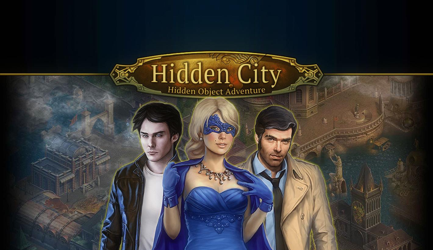 HiddenCity introduction イントロダクション ヘッダー
