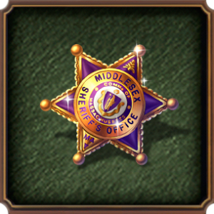 HiddenCity Case3 Key to the Past the sheriff's badge