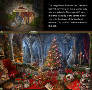 HiddenCity Christmas Hall クリスマスの広間 Location