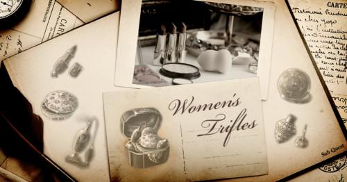 HiddenCity substory サブストーリー  Header ヘッダー Women's Trifles